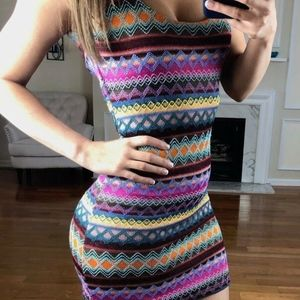 $55 Nasty Gal MINKPINK Mini Dress Open Back Small